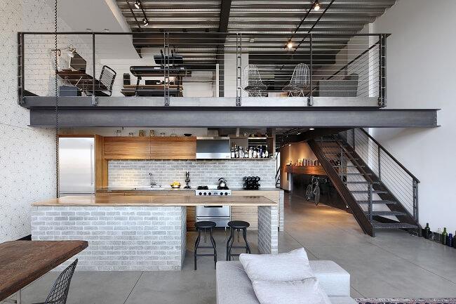 Modern Industrial Loft Style Condo Unit