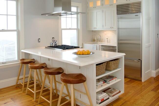 Modern Kitchen In A Studio Condo Unit