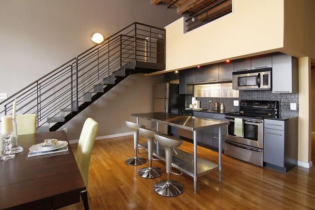 Modern Loft Style Condominium