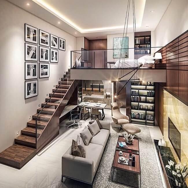 Rustic Modern Loft Condominium