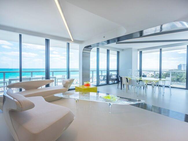 Stunning Modern Beachside Condo In Miami